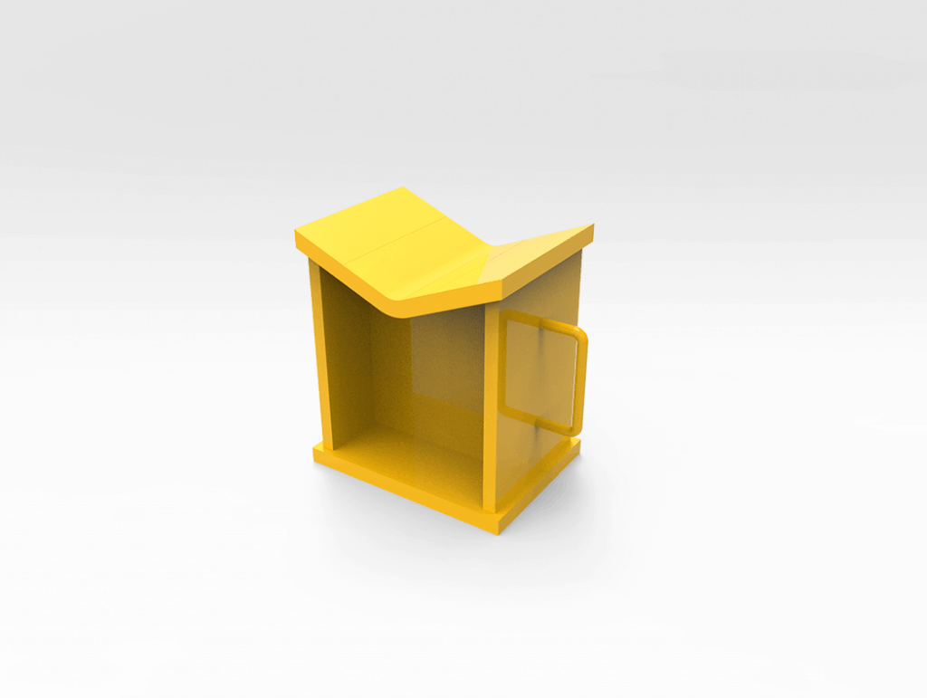 Vee Shaped Stand