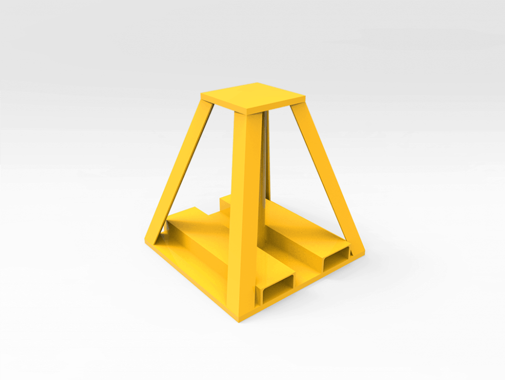 15 Tonne General Purpose Work Stand 730 mm h