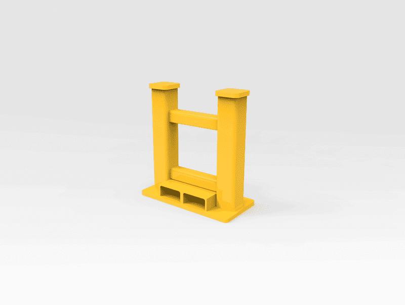 40 Tonne Twin Head Work Stand