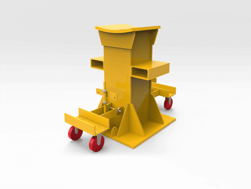 70 Tonne Curved Top Axle Stand