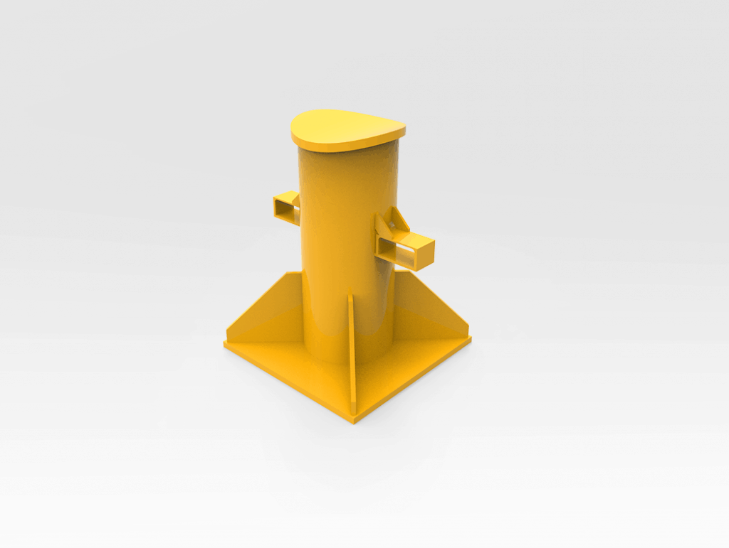 Curved Top Axle Stand