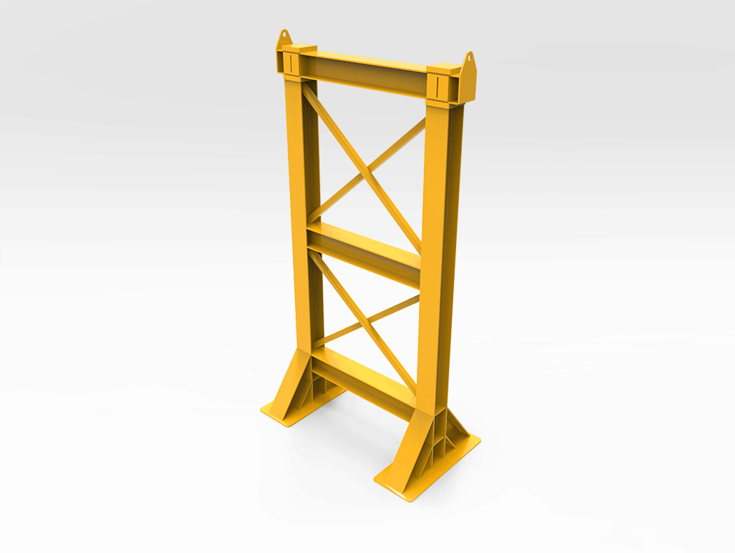 80 Tonne Boom Support Stand