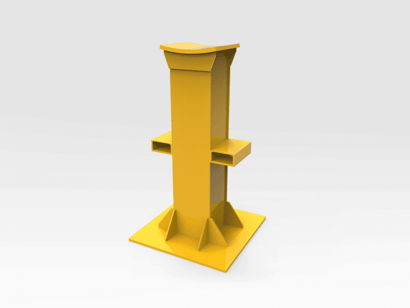 Curved Top Work Stand