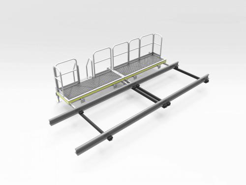 Aluminium Railcar Access Platform