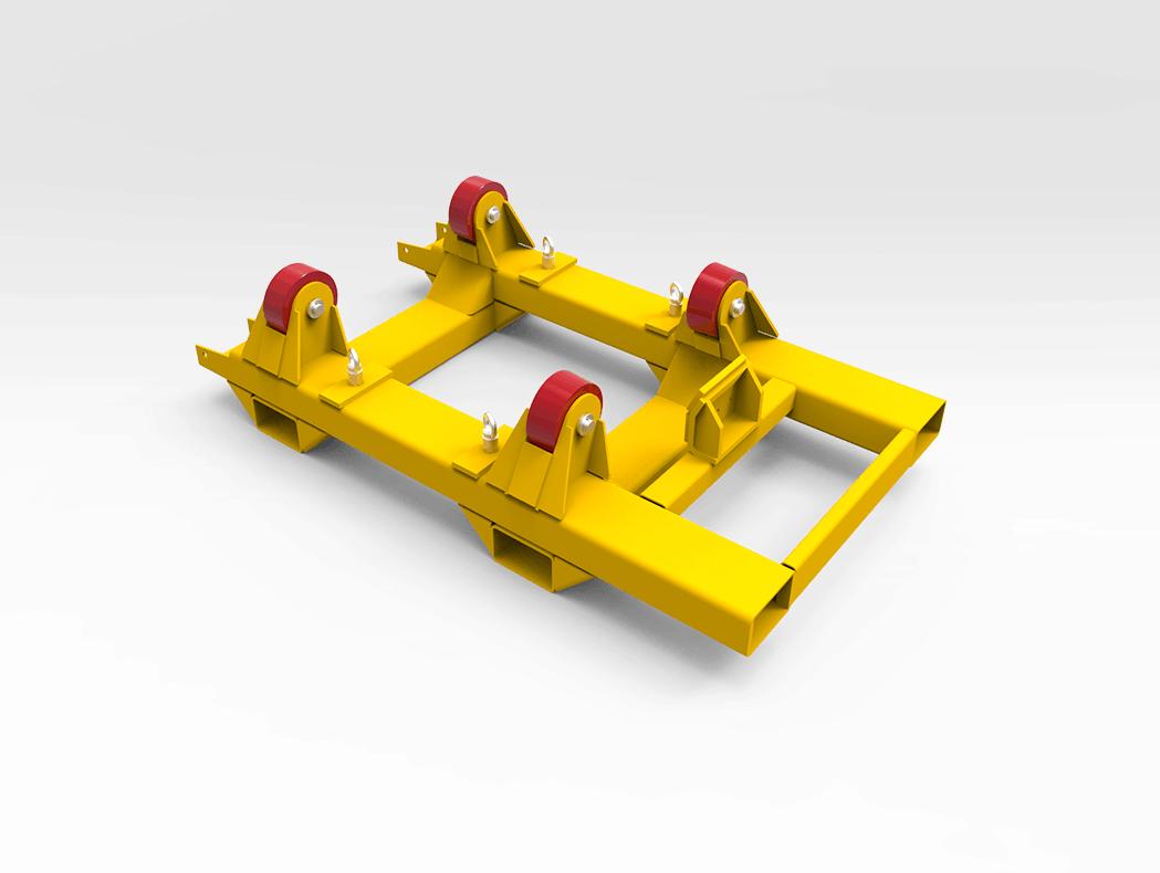 Wheel Hub Support Frame