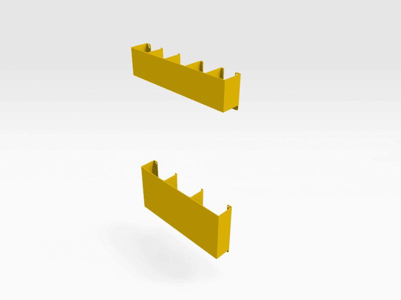 Whiteboard Bench Compartment Kit V2