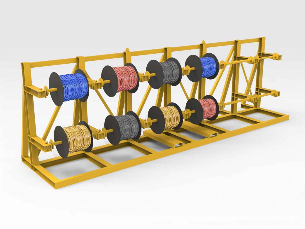 Electrical Cable Storage Rack