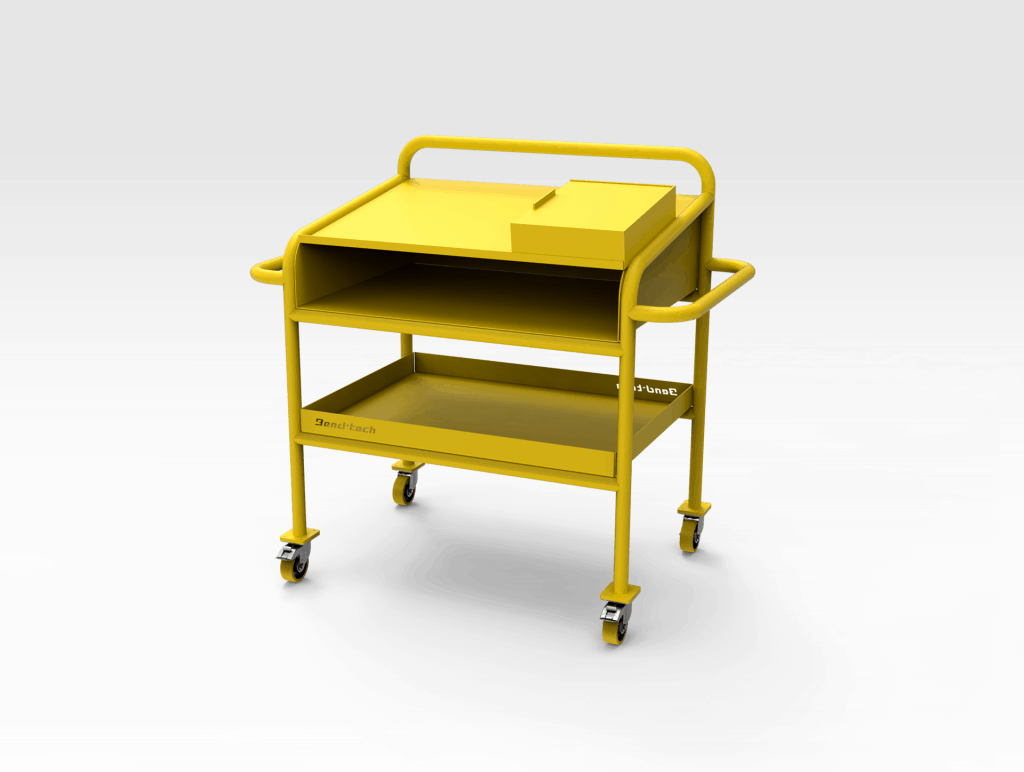 Aluminium Workshop Bench 1220mm RH