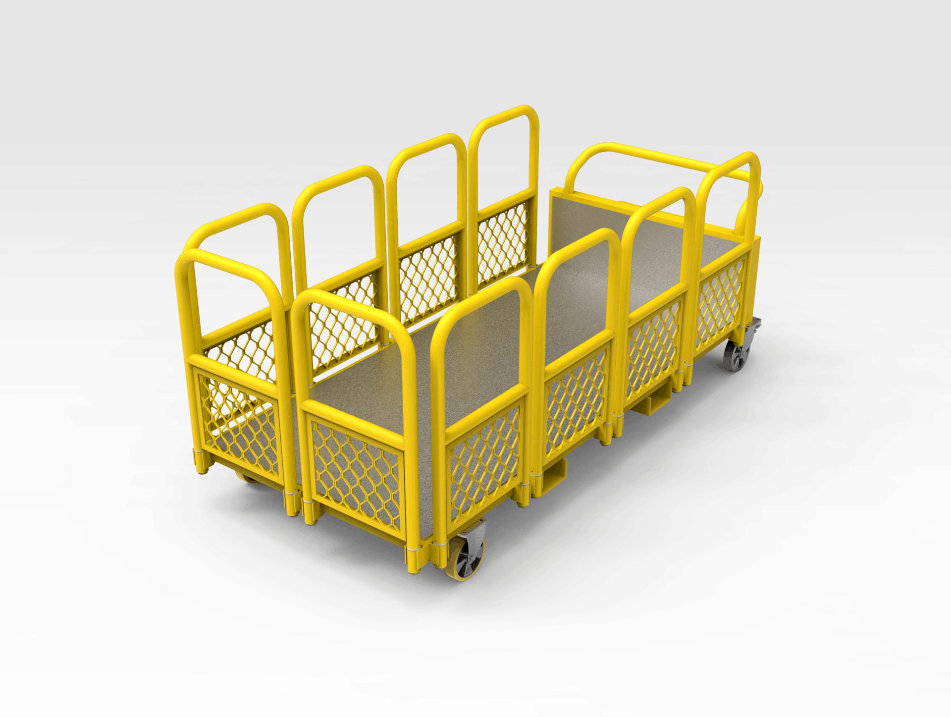 Workshop Maintenance Transport Trolley