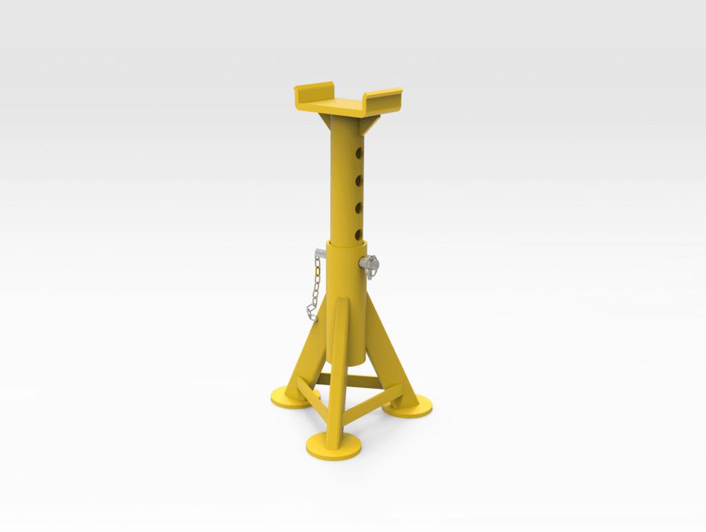 55016262 Adjustable Rail Stands RH.