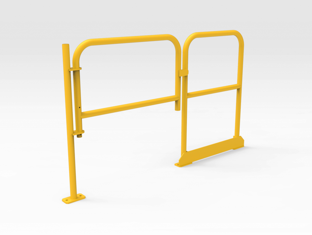 Self-closing Gate with Handrail LH