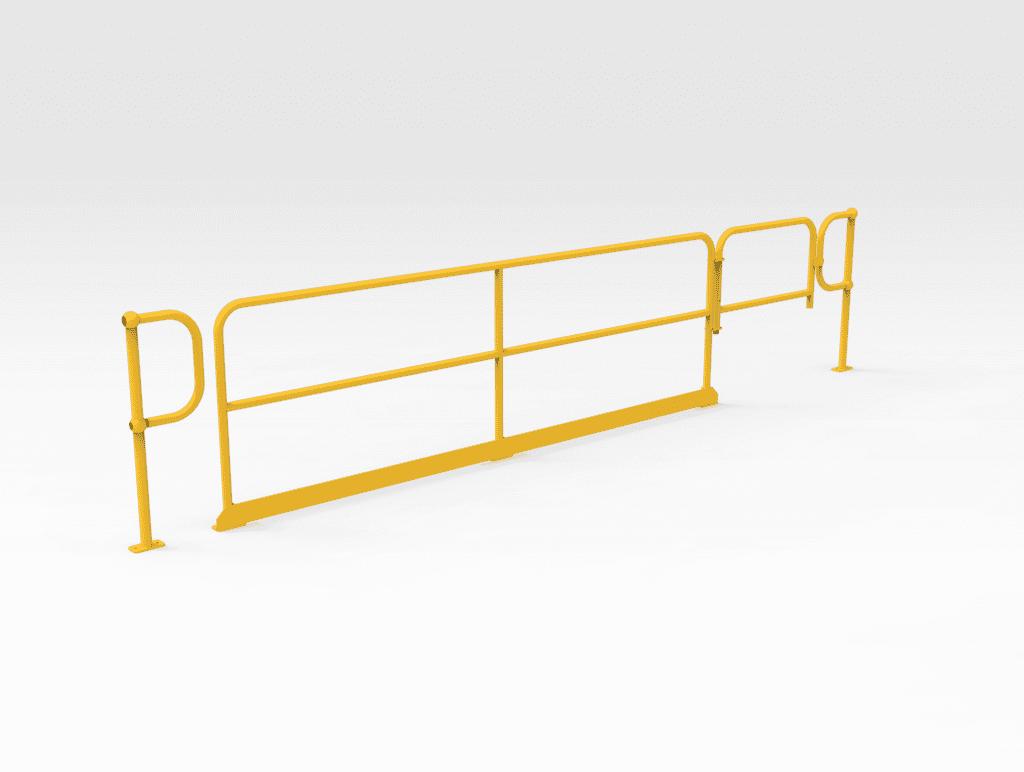 Handrail and Self-closing Gate 1000mm LH