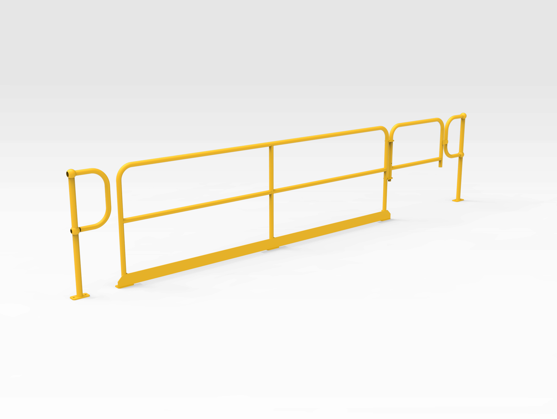 Self-closing Gate with Handrail 2449mm