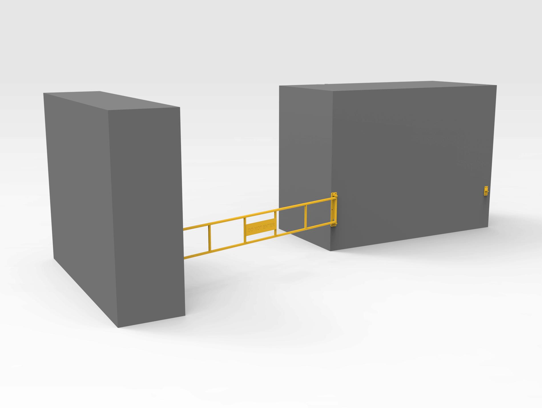 Lockable Gate 3830mm