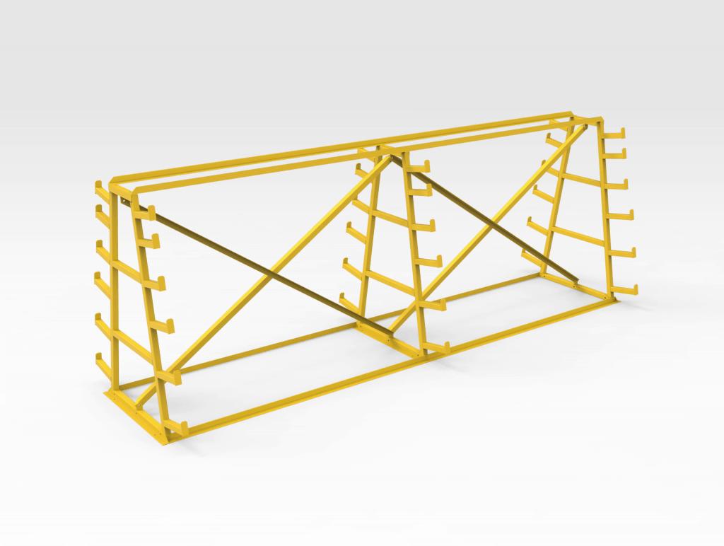 Steel Storage Rack LH