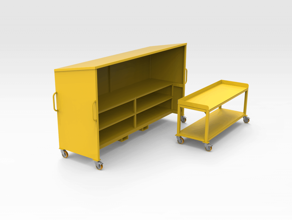 Work Bench and Table REAR