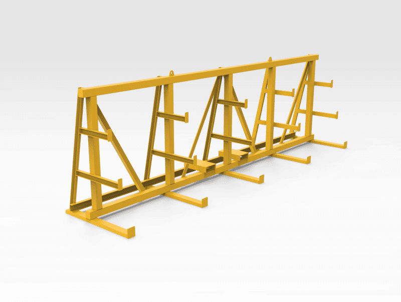 Electrical Equip Storage Rack - FL