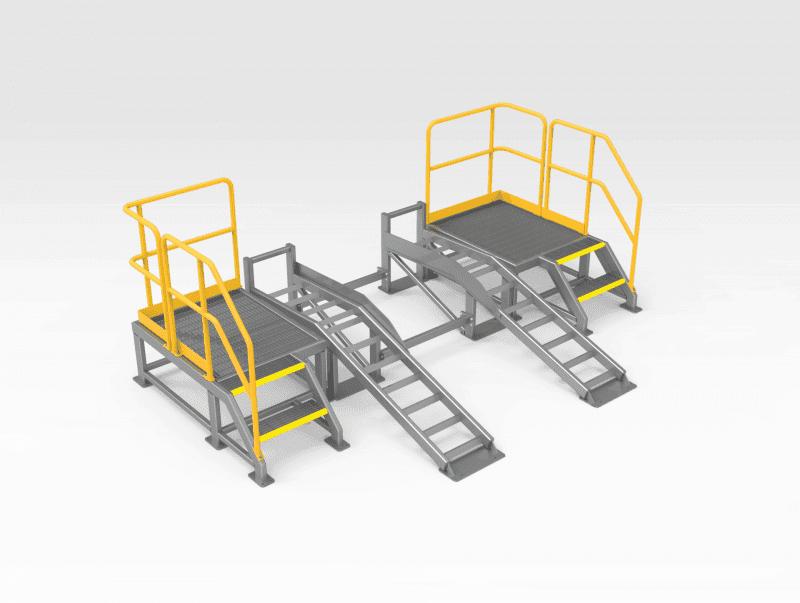 Washdown Ramp and Platform Assembly FL