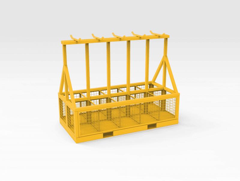 Lifting Chain Storage Rack FL