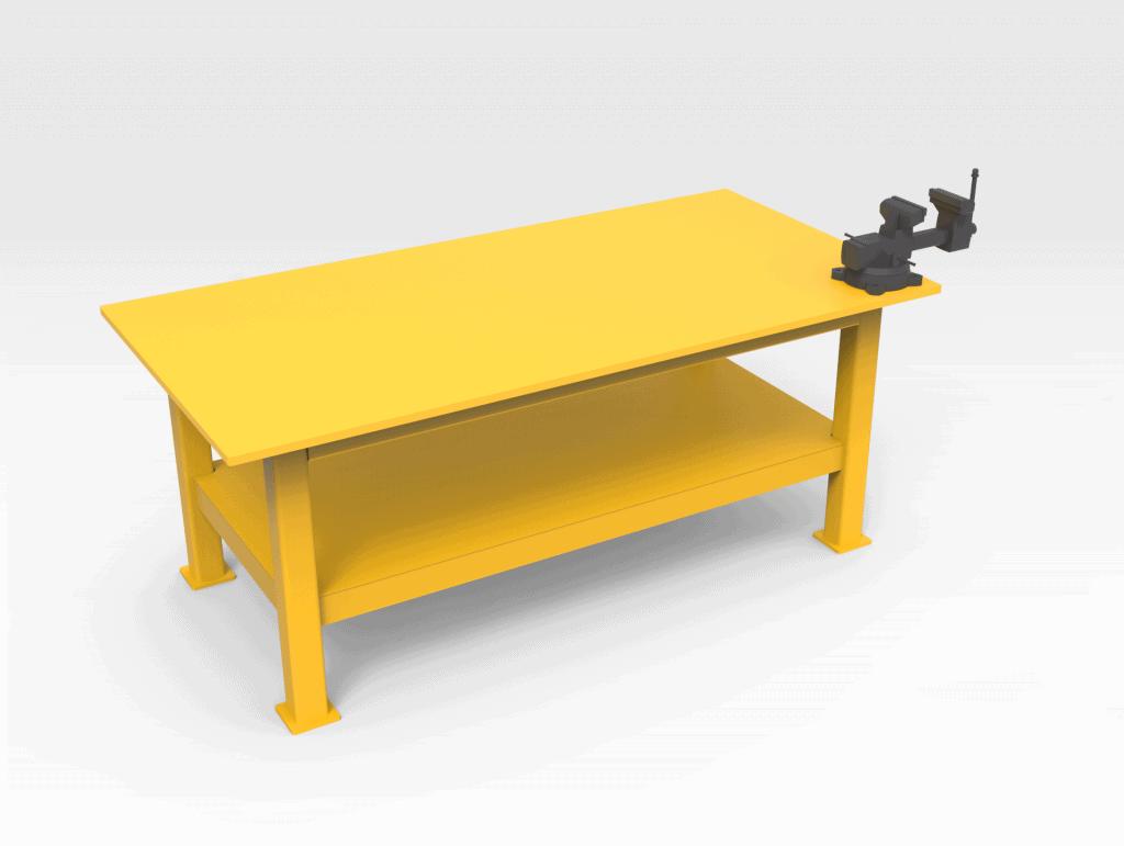 Work Bench 2400mm FL