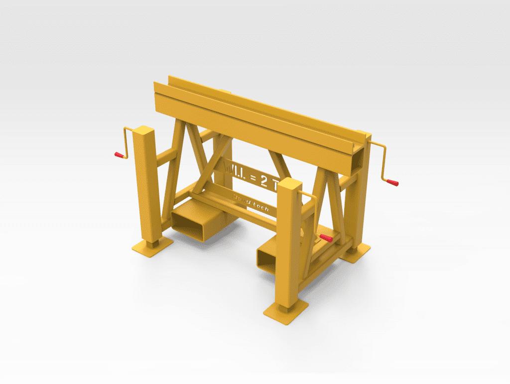 2T Adjustable Trestle Stand FR
