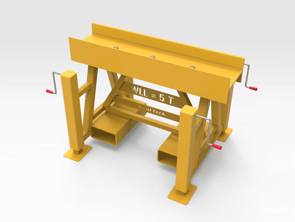 5T Adjustable Trestle Stand FR