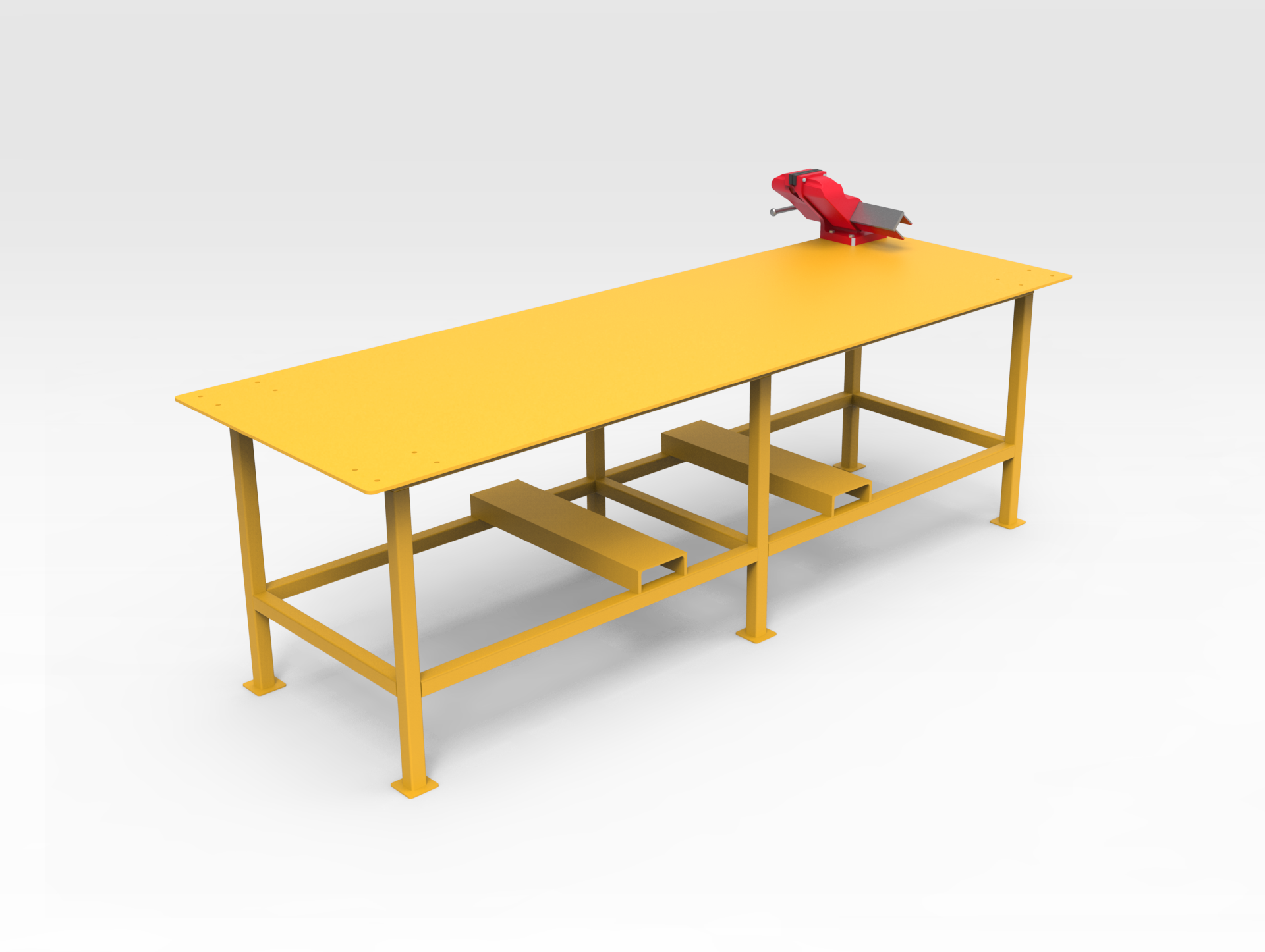 Workbench with Vice 1 Tonne