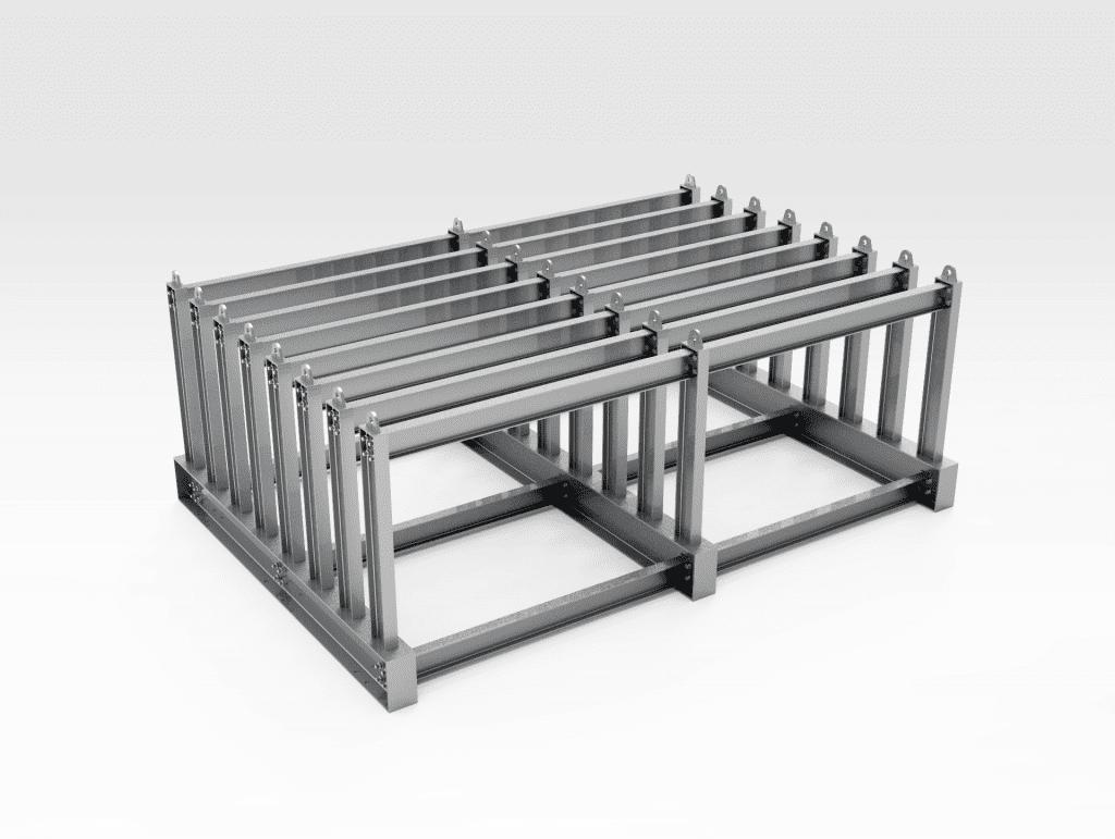Vertical Steel Plate Rack FL