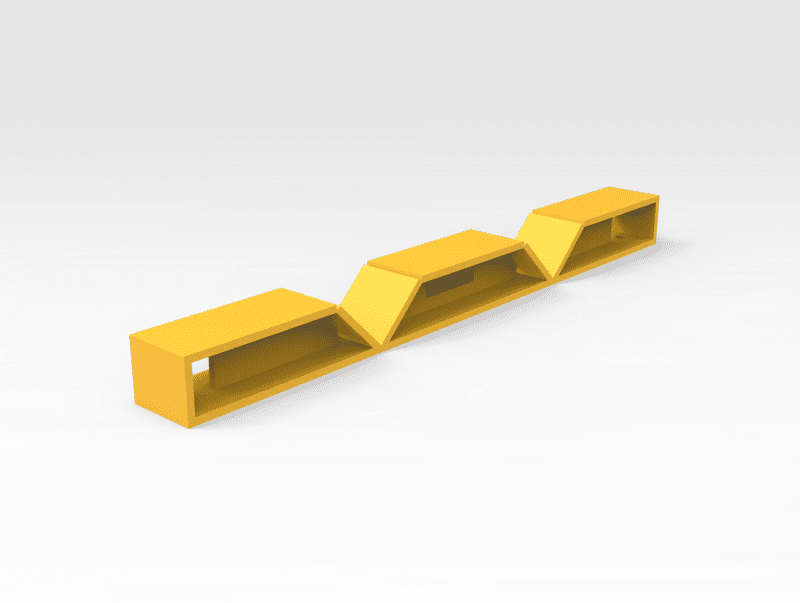 5503163 2T Trestle Replacement Top FR