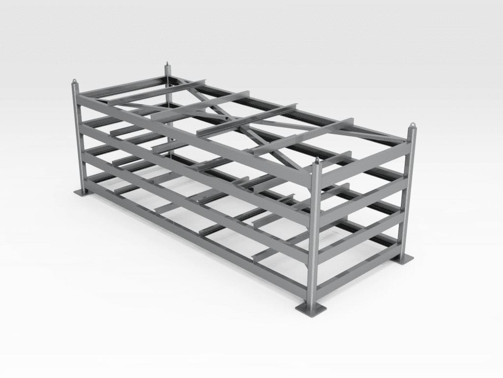Flat Plate Steel Storage Rack FL