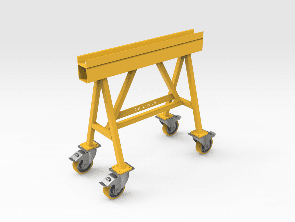 2T Trestle with Wheels FR