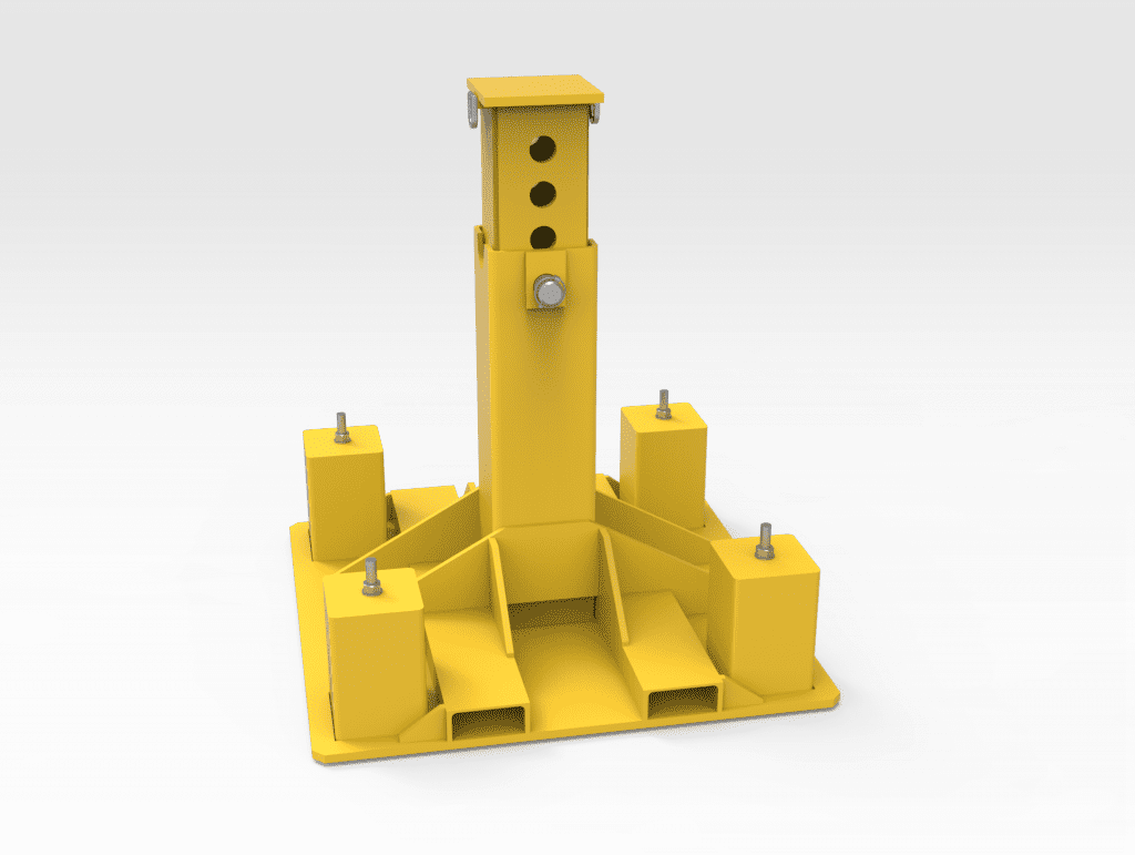CAT 777F Truck Stand - Extended FL