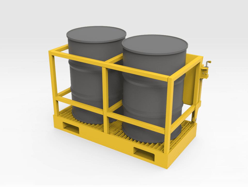 Grease Drum Transport Frame FR