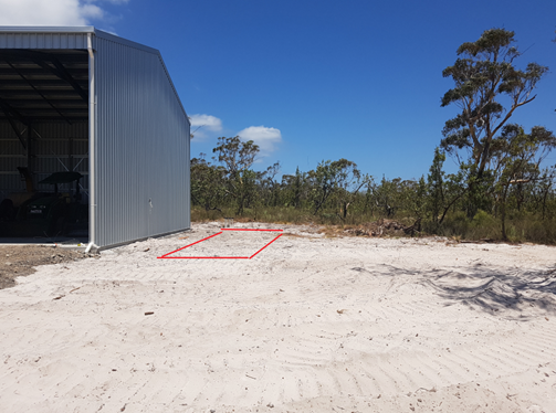 Proposed Ramp Area 1