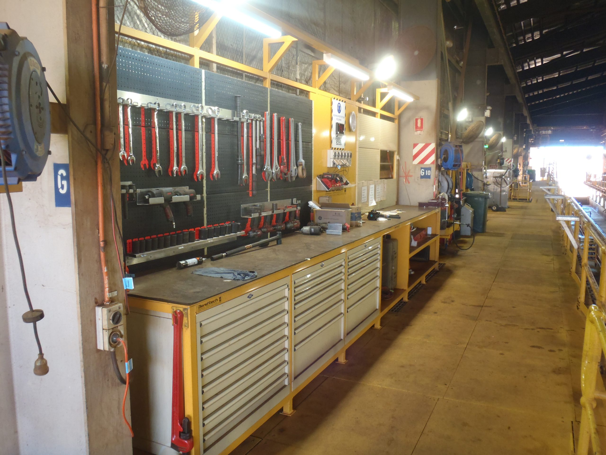 Tool Storage and Workbench