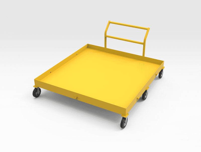 5504415 Oil Drip Tray RH