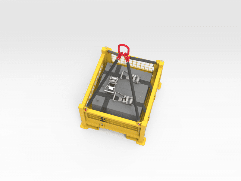 5504491 Battery Lifting Cage TOP