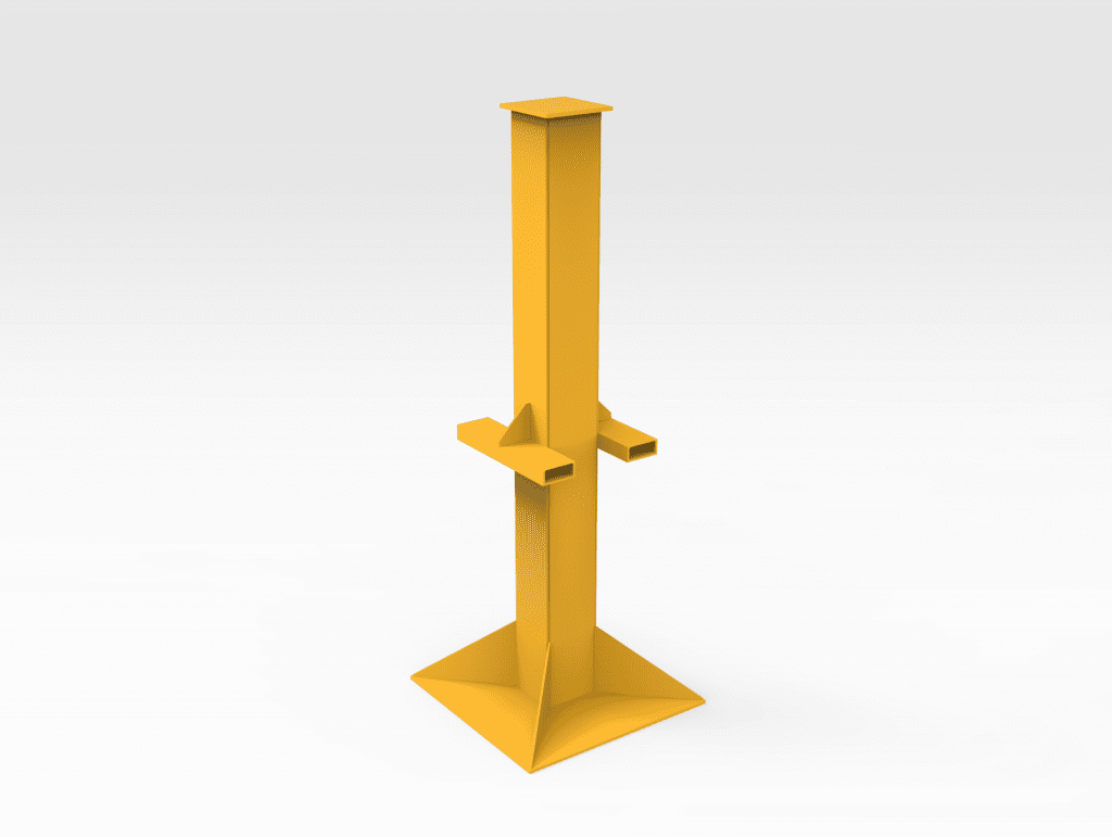 10T Cylinder Support Stand LH
