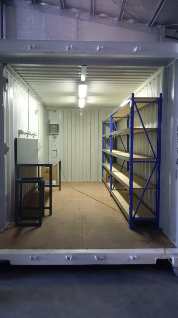 container fit-out